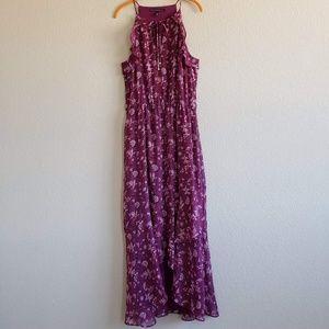 White House Black Market   Flutter Maxi Dress